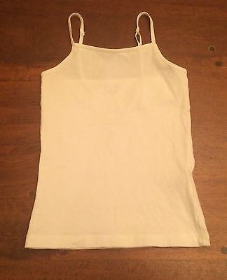 Halloween Costumes For 4 Girls (EUC girls white layering tank XS 4 5 perfect for under Halloween)
