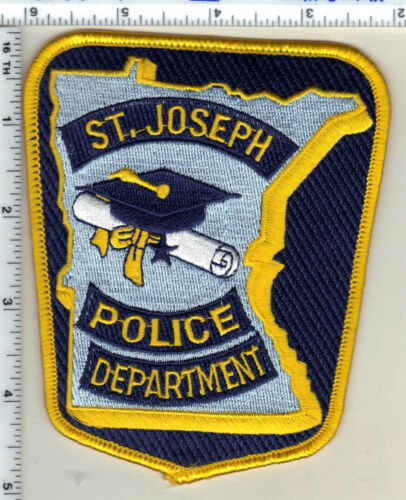 St. Joseph Police (Minnesota)  Shoulder Patch  - new from 1991