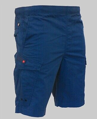 Superdry New Mens World Wide Cargo Chino Combat Casual Shorts Navy