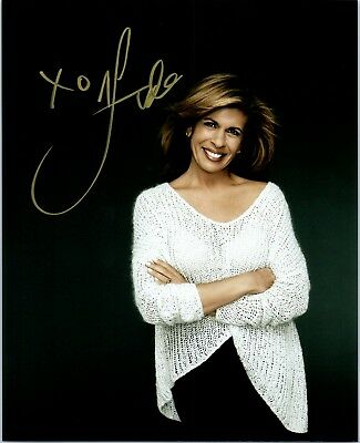 Hoda Kotb Signed Autographed Today Nbc Super Sexy 8X10 Photo A