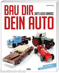 Fachbuch Joe's LEGO®-Garage, Modelle, Details,Tipps zum Thema Fahrzeuge, NEU OVP