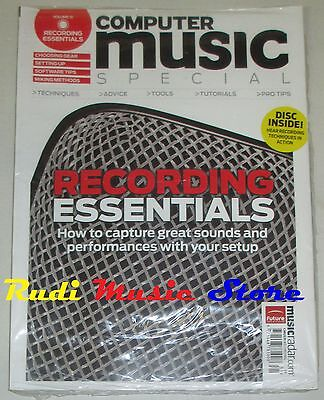 COMPUTER MUSIC Magazine SEALED SPECIAL DISC INSIDE RECORDING ESSENTIALS PRO TIPS
