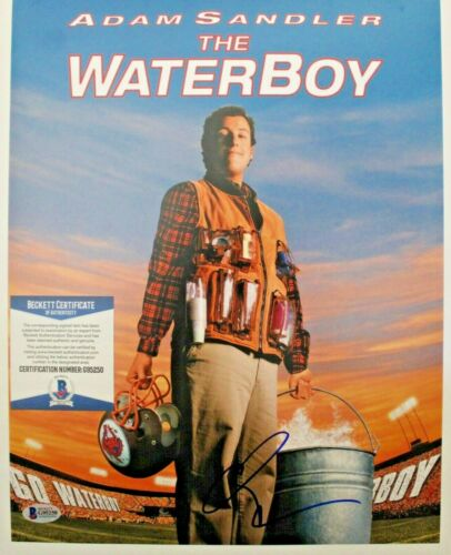 Adam Sandler Waterboy Signed 11X14 photo W/Beckett COA G95250 Bobby Boucher