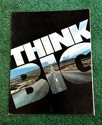 ORIG 1971 TRIUMPH MOTORCYCLE BROCHURE BONNEVILLE TIGER-650 TRIDENT DAYTONA 250