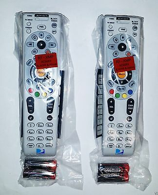 Lot Of Two Rc66rx Rf Universal Directv Remote Controls W Batteries  Direct Tv