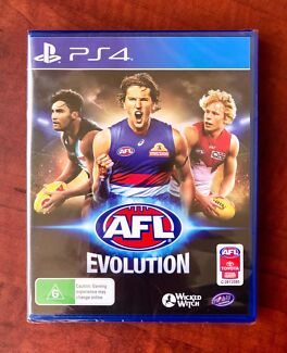 Ps4. AFL EVOLUTION. Excellent Condition $65 or Swap/Trade
