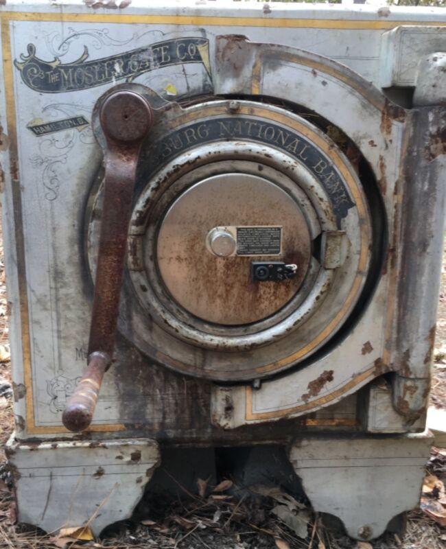 Vintage Mosler Screw Door Safe