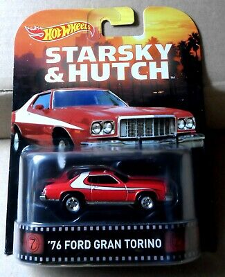 "Hot Wheels ""Retro Entertainment"" Starsky & Hutch '76 Ford Gran Torino"