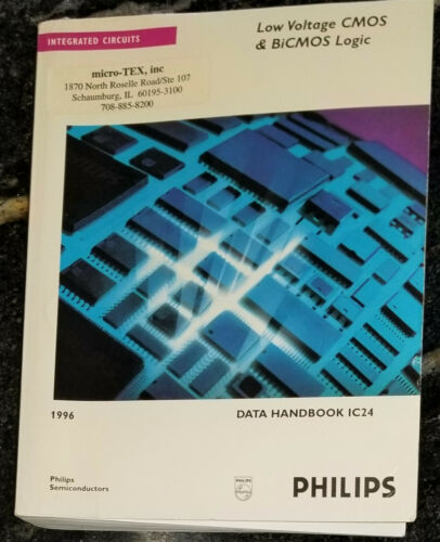 USED 1996 Philips Low-Voltage CMOS & BiCMOS Logic Databook