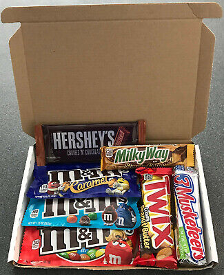 American Chocolate Selection Gift Box - HERSHEYS,REESES,NESTLE & MORE