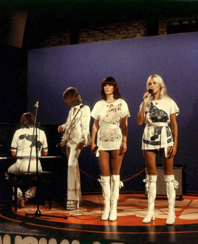 ABBA - MUSIC PHOTO #C46