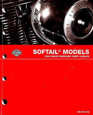 2008 HARLEY-DAVIDSON SOFTAIL MODELS PARTS CATALOG MANUAL -ROCKER-FATBOY-HERITAGE (Harley Davidson Rocker Parts)