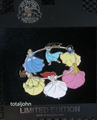 55821 DisneyShopping.com - Princess Ring Dance Jumbo Pin LE 500