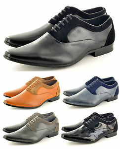 Mens-Italian-Styled-Pointed-Toe-Winkle-Pickers-Formal-Office-Shoes-UK-Size-6-11