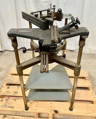 New Hermes Engravograph Engraving Machine Pantograph Engraver Stand 1013994