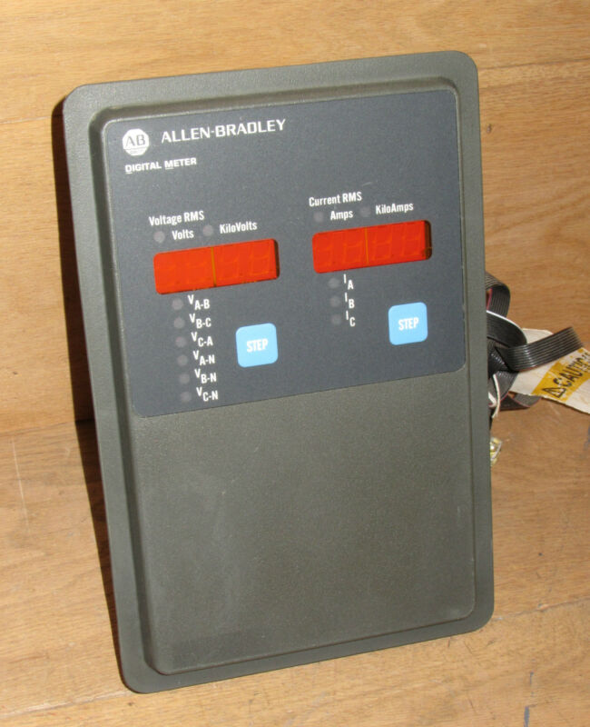 Allen Bradley 22996-007-01 Digital Meter With Power Supply 9966d75g02 Csq