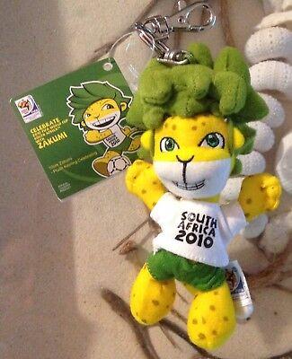 Usado, Official FIFA 2010 World Cup South Africa Zakumi Plush  Mascot  Keychain 10CM segunda mano  Embacar hacia Argentina