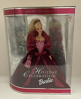 BARBIE Mattel 56209 Special Edition Holiday Celebration Doll Unopened Sealed NIB