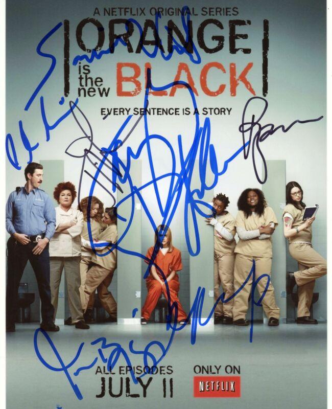 """Orange Is the New Black"" Cast AUTOGRAPHS Signed 8x10 Photo ACOA"