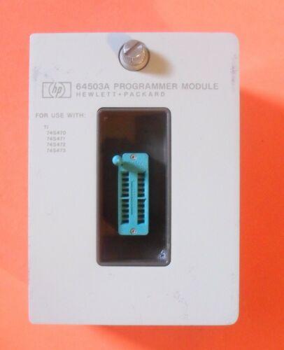HP Agilent Keysight 64503A Programmer Module