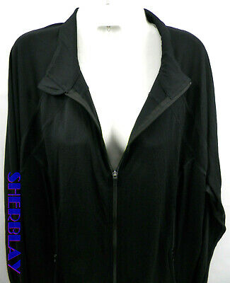 Principles Plus Size Size 2X  Activewear Full Zip Black Jacket