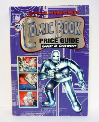 OVERSTREET COMIC BOOK PRICE GUIDE #35 Hardcover Book 35th Edition Iron Man 2005