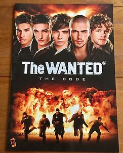 The Wanted - Code  Tour  Programme