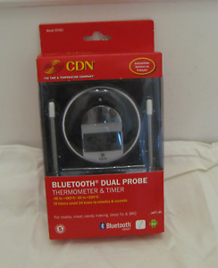 CDN Bluetooth Dual Probe Thermometer & Timer *BT482* New