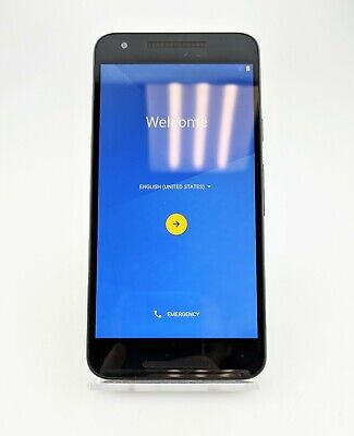 LG Google Nexus 5X H791 32GB Unlocked Android Smartphone Black Fair Shape