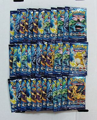 Pokemon XY X&Y Evolutions lot of 36 Factory Sealed Booster Packs = Box