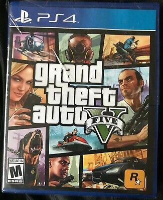 Grand Theft Auto V (Sony PlayStation 4, 2014) - New (see description)