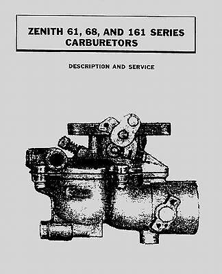 Zenith Series 61, 68 and 161 Carburetor Manual
