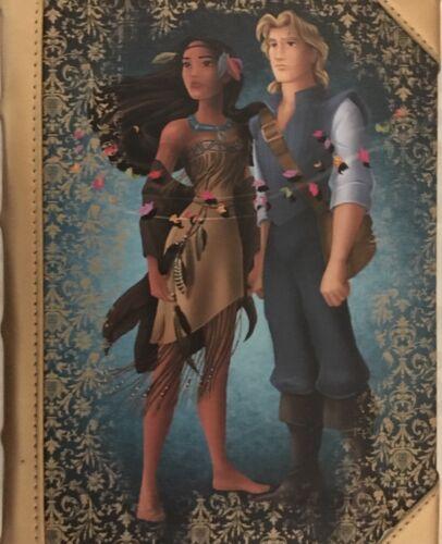 Disney Fairytale Designer Doll Collection Journal Pocahontas & John Smith LE