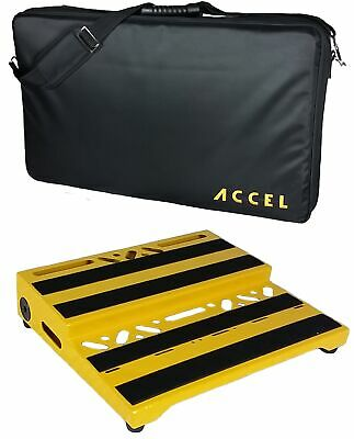 Accel XTA15 Pro Tier Pedal Board and Tote Case