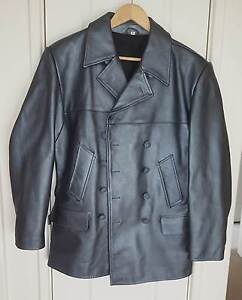 Genuine Leather XL Kriegsmarine WW2 Reproduced U-boat jacket Perth Perth City Area Preview