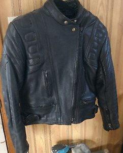 Excl Cond' Akito Womens Leather Hvy Moto Jckt  asking $120 obo