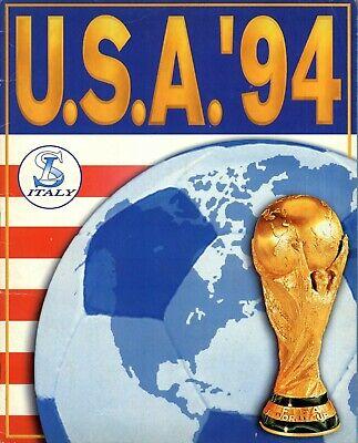 ALBUM CROMOS FUTBOL USA 94 SERVICE LINE FACSIMIL NUEVO Y COMPLETO