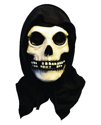 Misfits The Fiend Skull Latex Mask Album High Quality Official Punk Rock Costume (Misfits Fiend Mask)