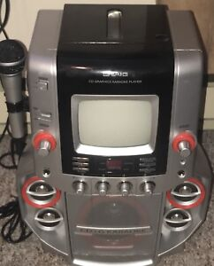 """KARAOKE SYSTEM WITH Built IN 5"""" SCREEN ($199)"""
