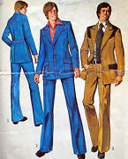 Vintage Mens Suit Pattern