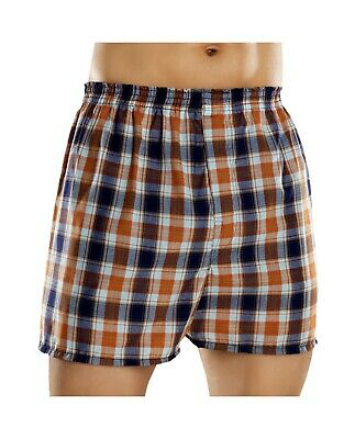 Fruit of the Loom Men's Plaid Woven Boxers Big Sizes (Pack 5) (Fruit Of The Loom Mens Boxers)
