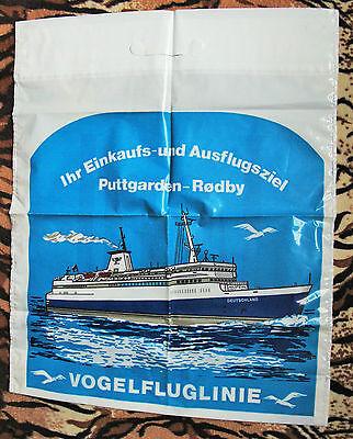 70er/80er Jahre Plastiktüte Tragetasche plastik Tüte Vogelfluglinie Lord EXTRA ()