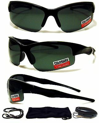 ce59b77c61 Mens Sunglasses Polarized Black Fishing Driving Outdoor Sports Eyewear  Glasses