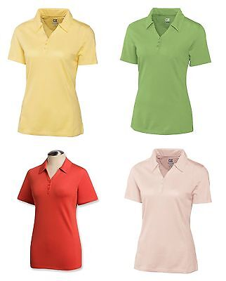 CUTTER & BUCK Womens Ladies Golf CB DryTec CHAMPIONSHIP Polo Shirt NWT pic color