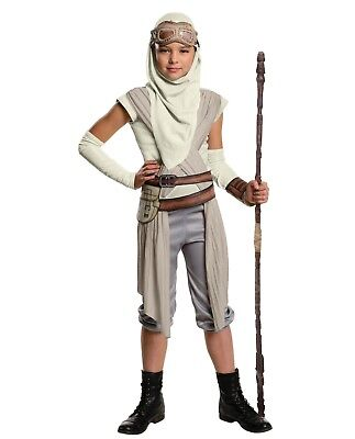 Child Star Wars Episode 7 Rey Hero Eye Mask Goggle Hood Character Cosplay Girls - Star Wars Girl Characters
