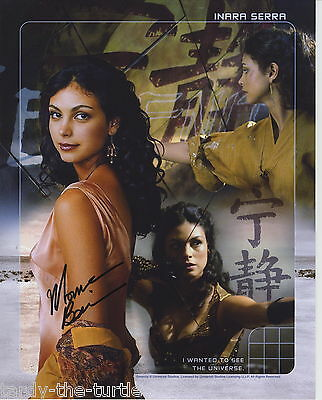 Morena Baccarin  8 X 10 Autograph Reprint  Firefly   Homeland  Heartland