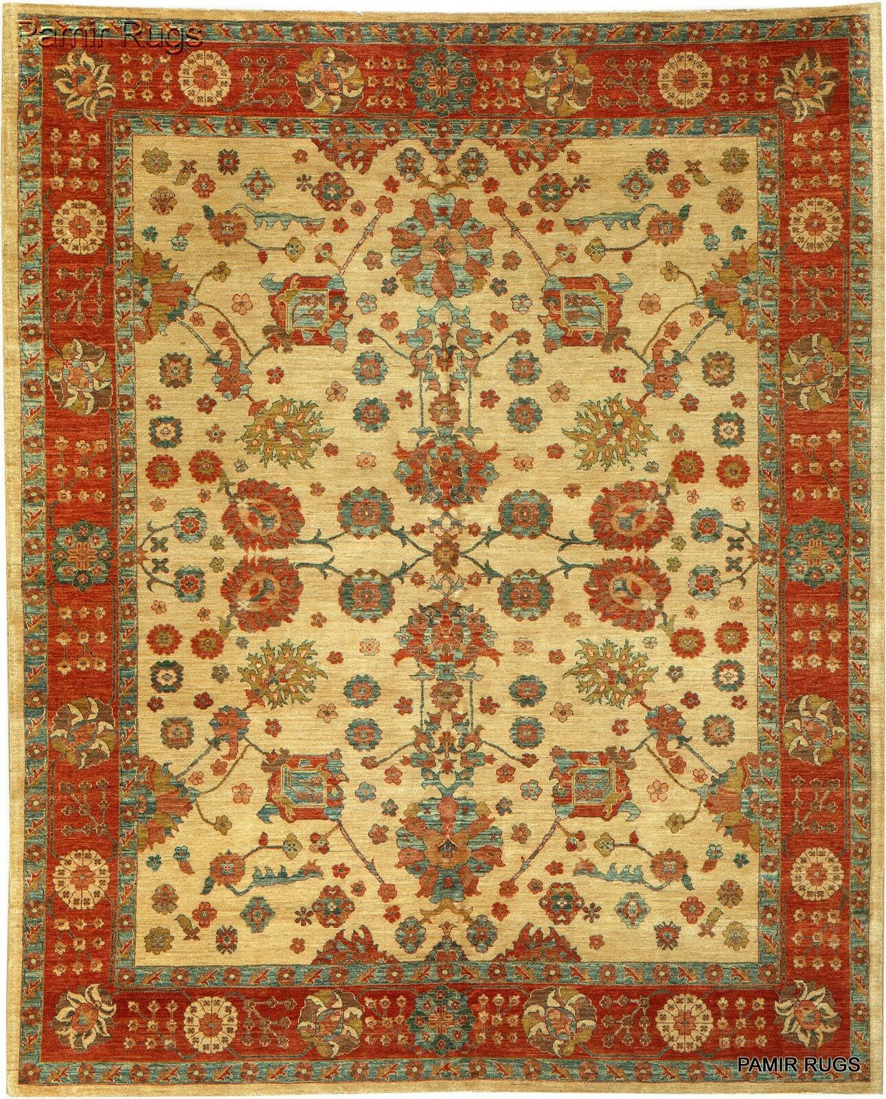 Details About Chobi Vegetable Dye 8x10 Ft Top Quality Persian Rug Beige Background Handmade