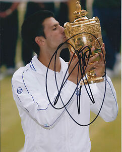 Novak-DJOKOVIC-SIGNED-Autograph-WIMBLEDON-Tennis-Champion-RARE-Photo-AFTAL-COA