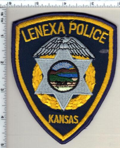 Lenexa Police (Kansas) Shoulder Patch - new from 1990