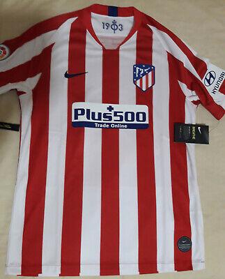 Camiseta oficial Atlético de Madrid Primera equipación - Talla XL